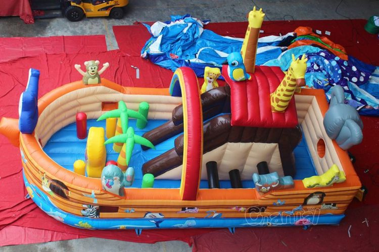 inflatable boat noah's ark
