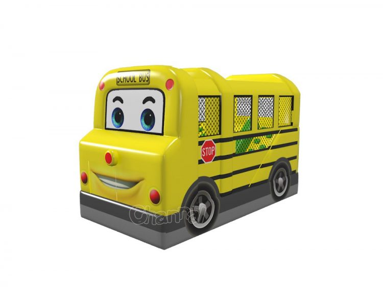 school bus moon bounce for sale