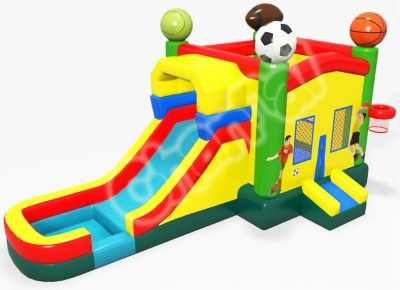 sports games bounce house