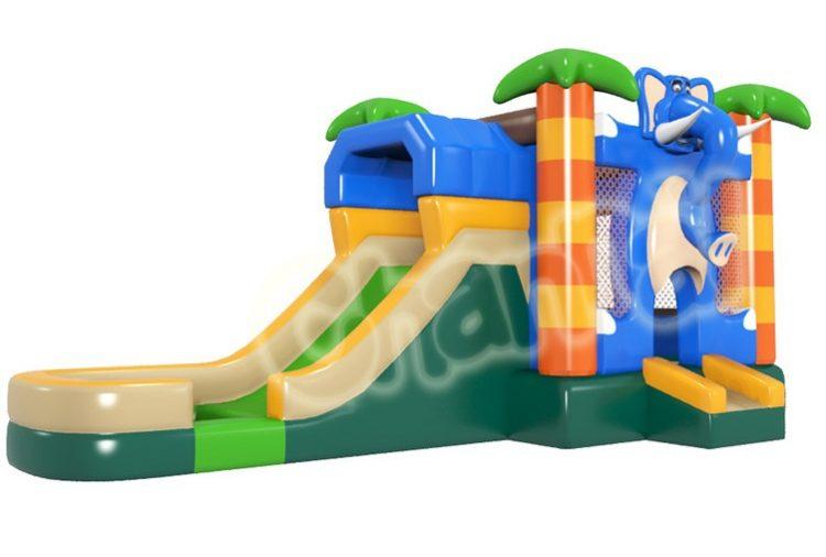 cute elephant bouncy house