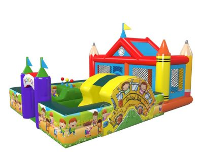 fun inflatable schoolyard for kids for sale