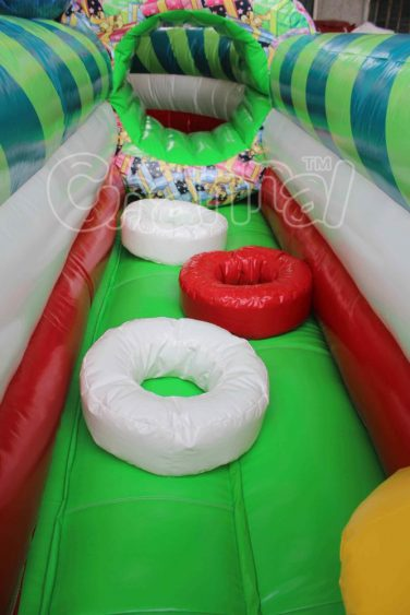 inflatable tire obstacles