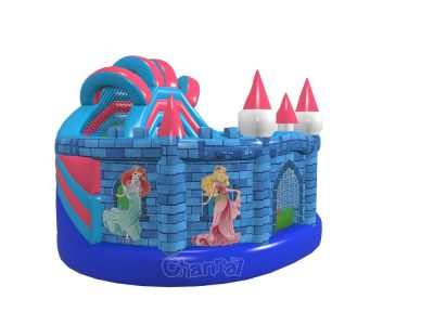 princess castle inflatable playground