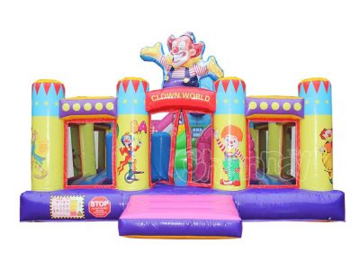 commercial circus world inflatable playground for sale