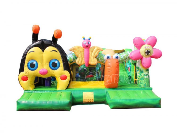 woodland bugs inflatable course playground for sale