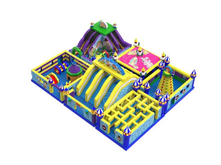 large inflatable kids playground for sale