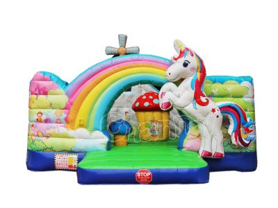 unicorn's home inflatable playground for sale