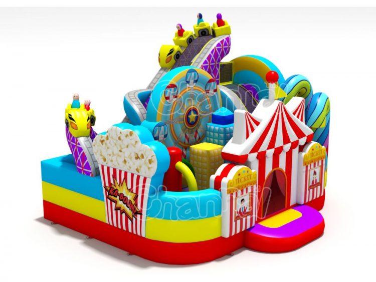 amusement park inflatable playground