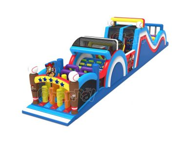 baseball inflatable obstacle course