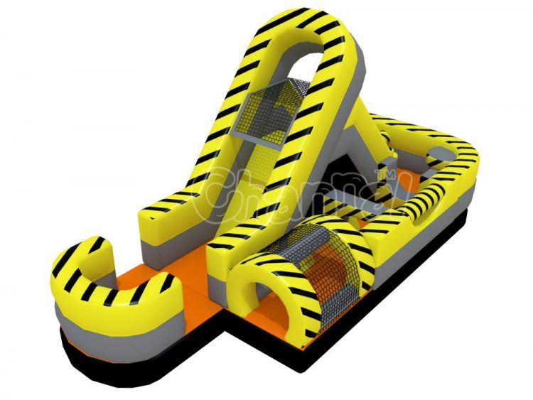 single piece small turbo rush obstacle course for kids