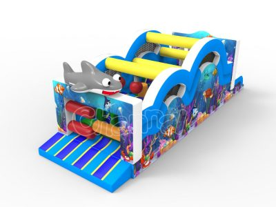 subaqua world inflatable obstacle course for sale