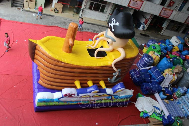 inflatable pirate ship (part)