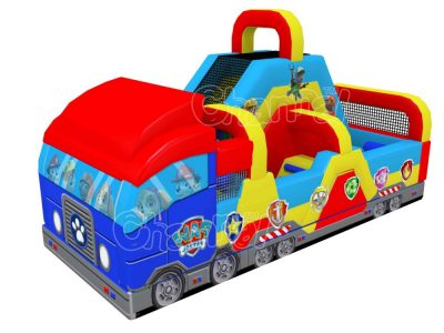 paw patrol vehicle course