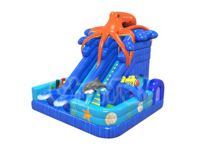 underwater world octopus obstacle course