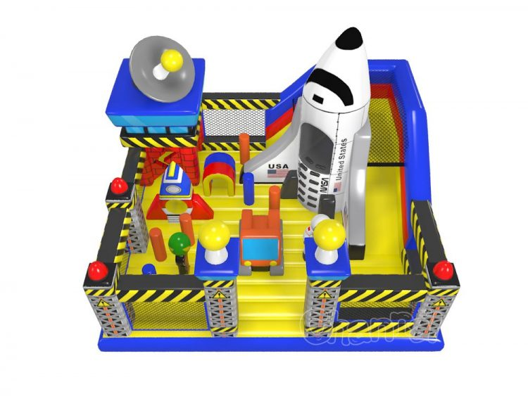 nasa space center inflatable playground for sale