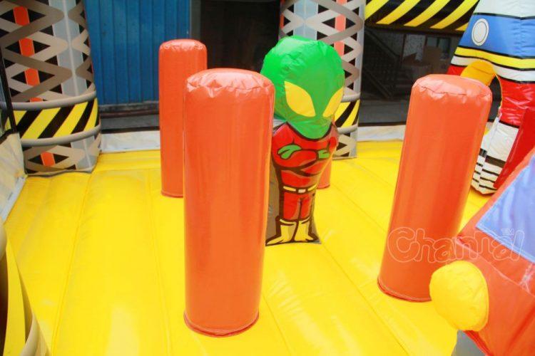 inflatable alien pop up