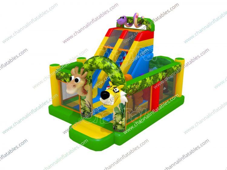 animal inflatable playground
