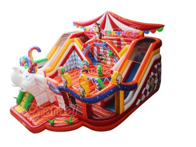 the great circus inflatable playground