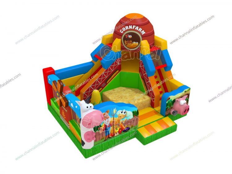 farm inflatable playground