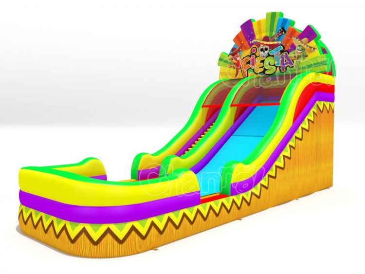 mexico fiesta inflatable water slide