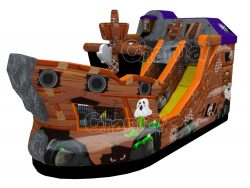ghost ship inflatable slide
