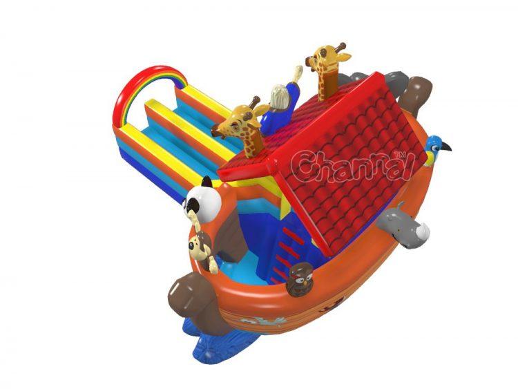 inflatable Noah's ark slide for sale