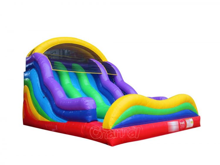 rainbow inflatable slide for sale