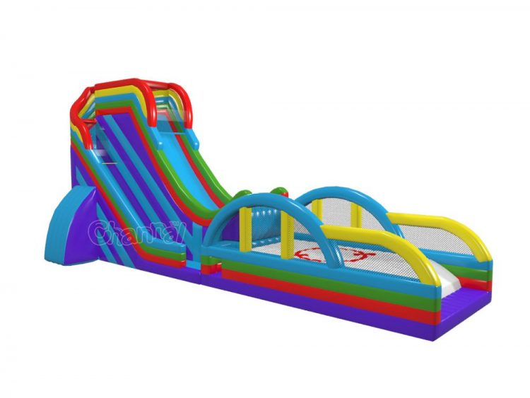slingshot inflatable slide