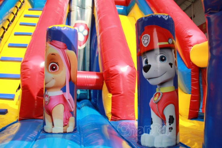 inflatable Marshall and Skye