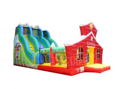 buy back to school inflatable slide