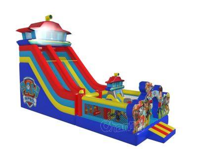 large inflatable paw patrol slide for kids