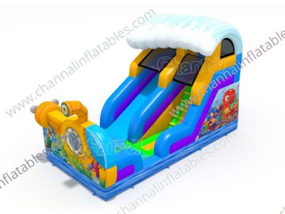 tourist submarine inflatable water slide