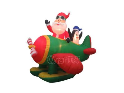 blow up christmas airplane wholesale