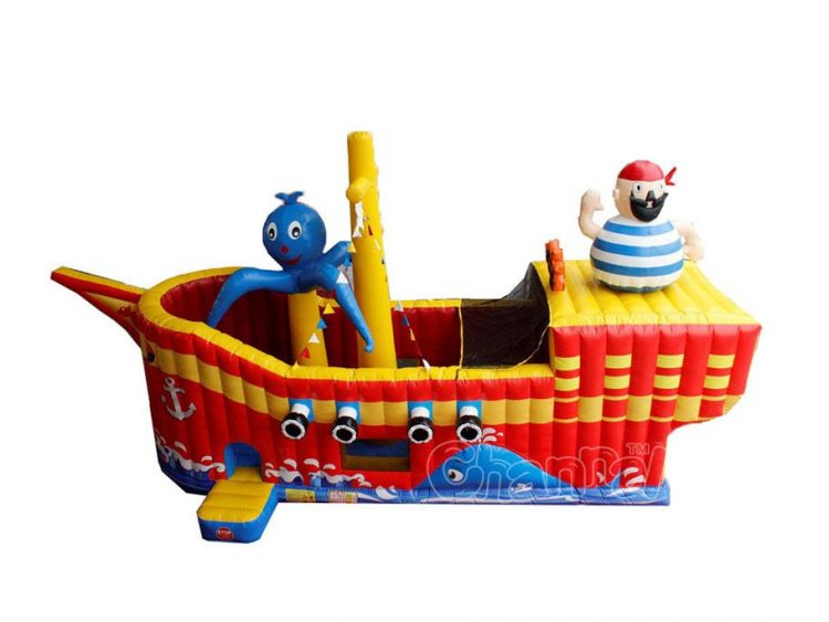 octopus ship inflatable slide