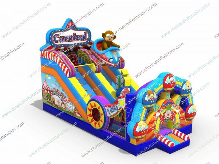 carnival inflatable slide
