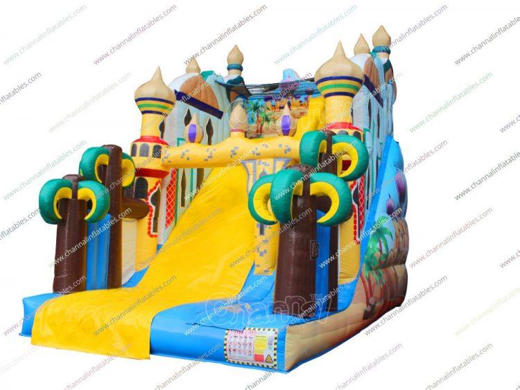 aladdin inflatable slide for sale