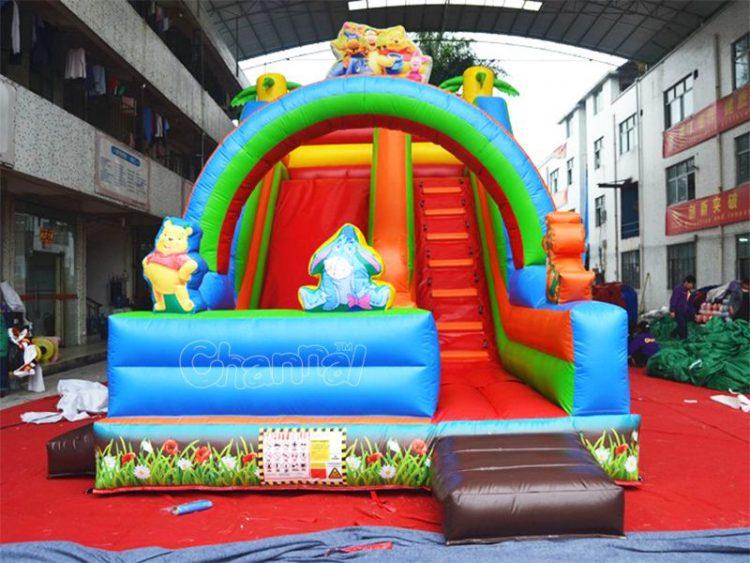 winnie the pooh inflatable slide
