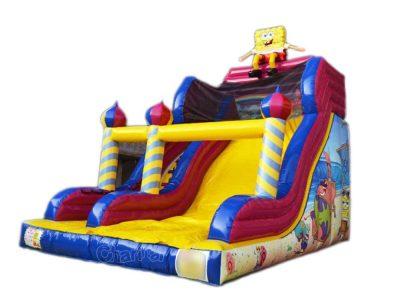 spongebob and patrick inflatable slide