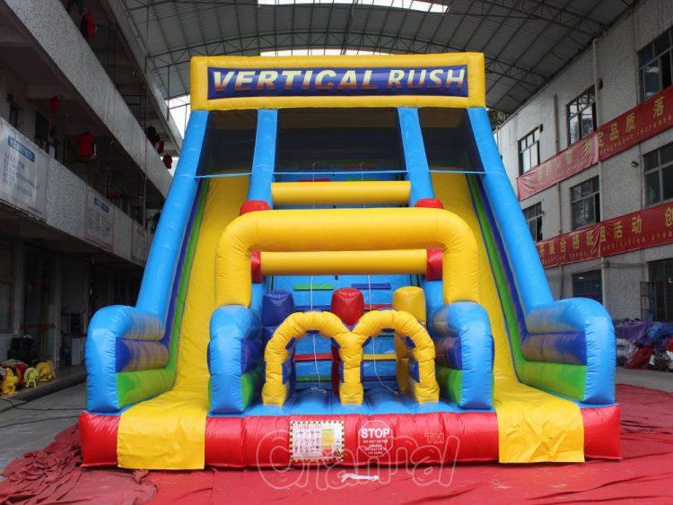 vertical rush slide for sale