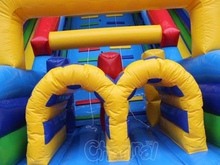 vertical rush climb and slide inflatable