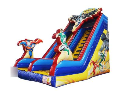 justice league inflatable slide
