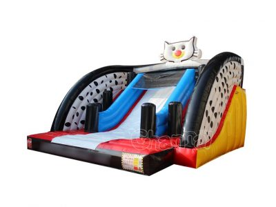 cat inflatable slide for sale