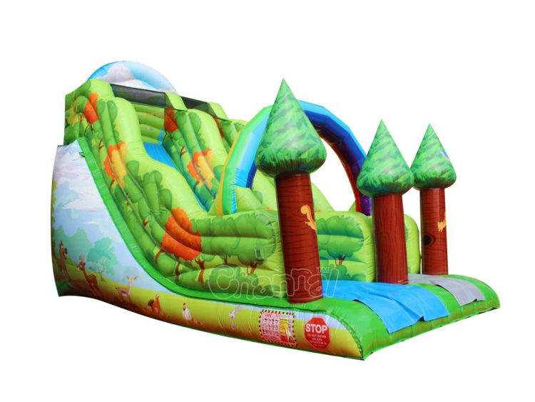 forest inflatable slide for sale