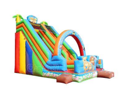 animal kingdom inflatable slide for sale
