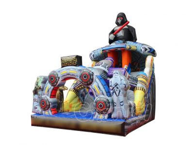 star wars inflatable slide