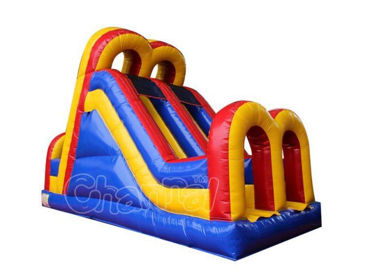 15 ft dual lane inflatable slide