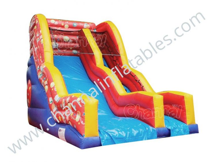balloon party inflatable slide