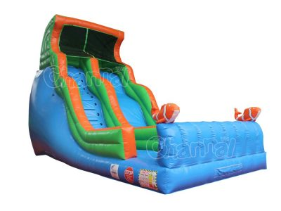 clownfish inflatable slide for sale