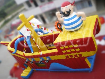 caribbean pirate inflatable slide