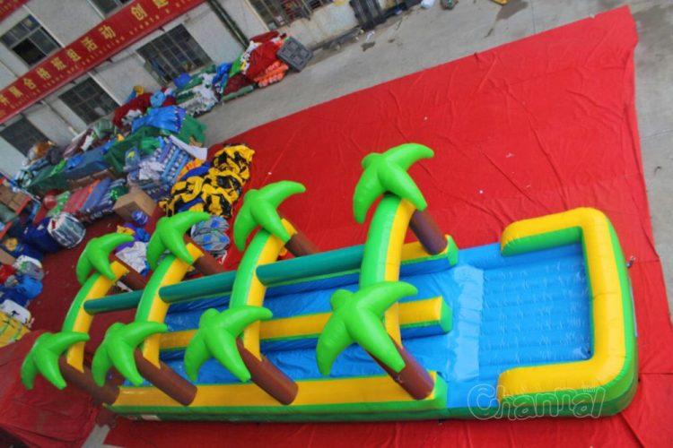 double lane slip n slide commercial